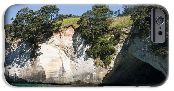 Adrenaline iPhone Cases - Cathedral Cove iPhone Case by Himani - Printscapes