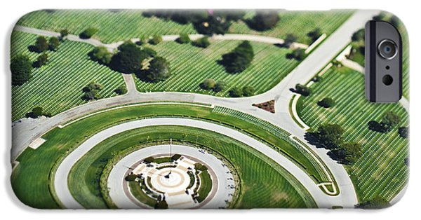 Graveyard Road iPhone Cases - Cemetery iPhone Case by Eddy Joaquim