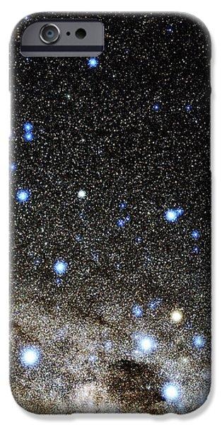 Centaurus And Crux Constellations iPhone Case by Eckhard Slawik