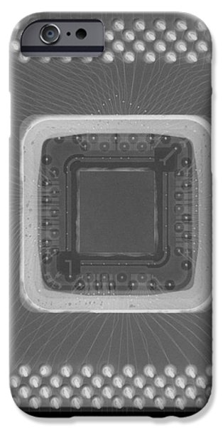 Central Processor iPhone Case by Ted Kinsman