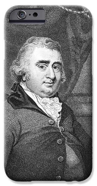 Orator iPhone Cases - Charles Fox (1749-1806) iPhone Case by Granger