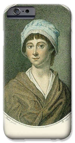 CHARLOTTE CORDAY iPhone Case by Granger