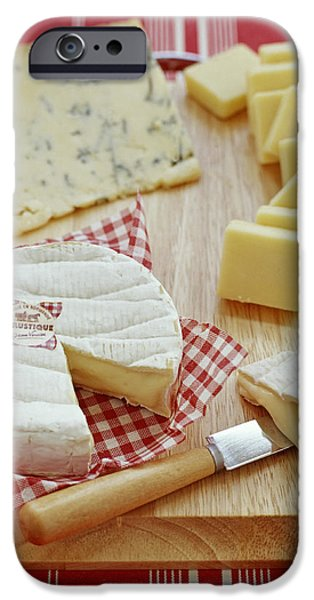Cheese Selection iPhone Case by David Munns