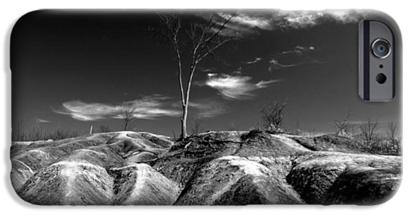 Black Top iPhone Cases - Cheltenham Badlands iPhone Case by Cale Best