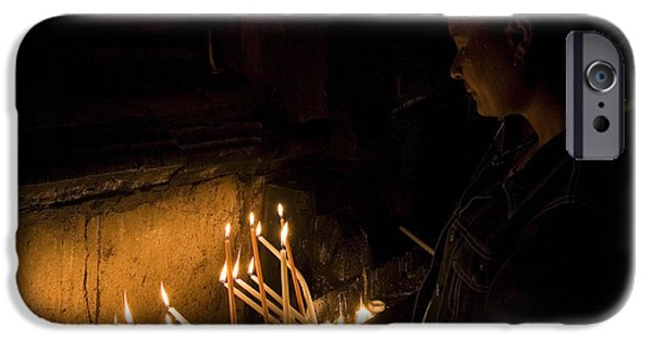 The Followers iPhone Cases - Church of the Holy Sepulchre iPhone Case by Danny Yanai