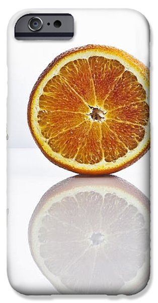 citrus fruits iPhone Case by Joana Kruse