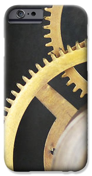 Familiar iPhone Cases - Clock Gears iPhone Case by Photo Researchers, Inc.