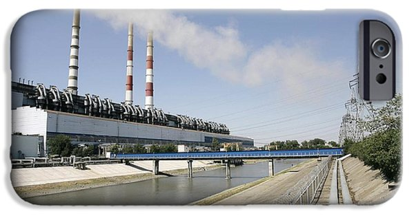 Upgrade iPhone Cases - Coal Fired Power Station iPhone Case by Ria Novosti