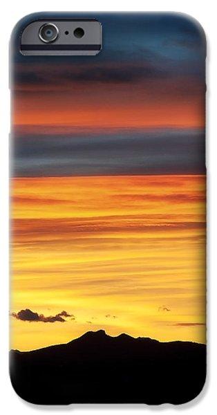Colorado Sunrise iPhone Case by Bronze Riser