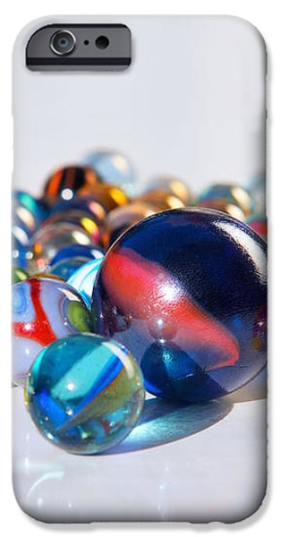 Colorful Marbles iPhone Case by Carlos Caetano