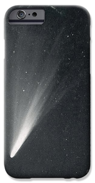 Luminous Body iPhone Cases - Comet West, 1976 iPhone Case by Science Source
