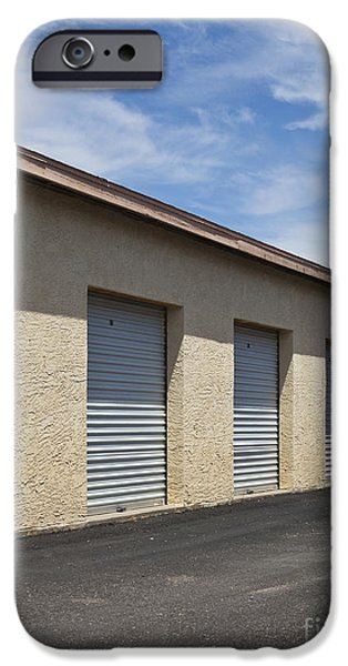Commercial Storage Facility iPhone Case by Paul Edmondson