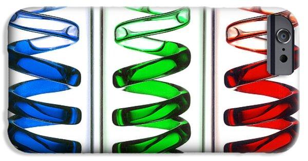 Industry iPhone Cases - Condenser Tubes iPhone Case by Victor De Schwanberg