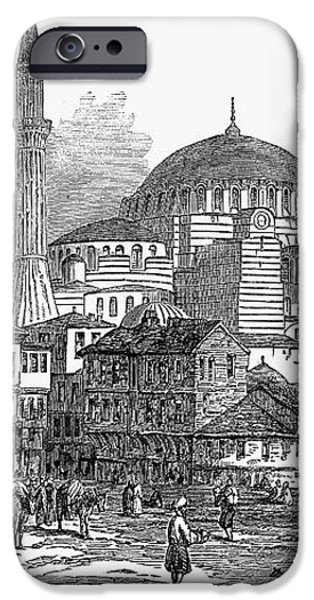 CONSTANTINOPLE: ST. SOPHIA iPhone Case by Granger