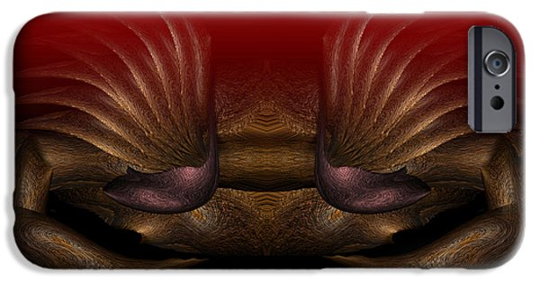 Business iPhone Cases - Crab iPhone Case by Christopher Gaston