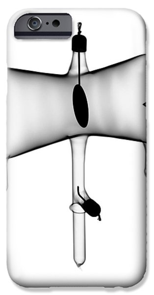 Laboratory Equipment iPhone Cases - Crookes Tube iPhone Case by Ted Kinsman