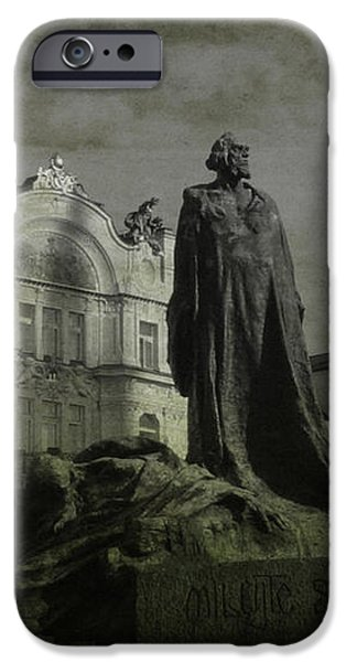 Death in Prague iPhone Case by Lee Dos Santos