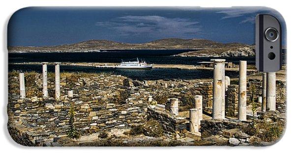 Delos iPhone Cases - Delos Island iPhone Case by David Smith