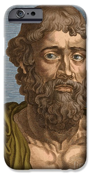 Demosthenes, Ancient Greek Orator iPhone Case by Photo Researchers