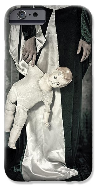 Creepy iPhone Cases - Doll iPhone Case by Joana Kruse