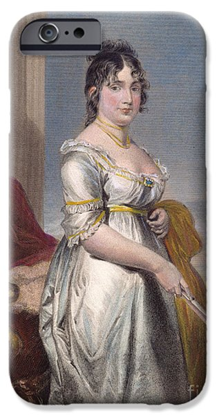 First Lady iPhone Cases - Dolley Payne Todd Madison iPhone Case by Granger