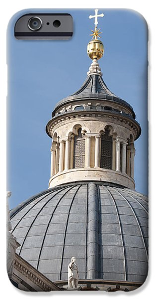 The Duomo iPhone Cases - Dome Siena Cathedral Italy iPhone Case by Matthias Hauser