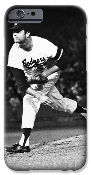 Best Sellers -  - Mounds iPhone Cases - Don Drysdale (1936-1993) iPhone Case by Granger