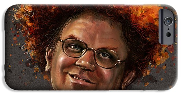 Celebrities iPhone Cases - Dr. Steve Brule  iPhone Case by Fay Helfer