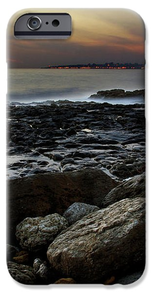 Dramatic Coastline iPhone Case by Carlos Caetano