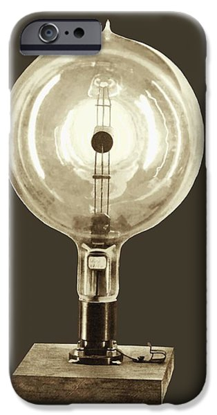 Nineteenth iPhone Cases - Early Photoelectric Cell iPhone Case by Sheila Terry