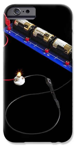 Electrical Circuit iPhone Case by