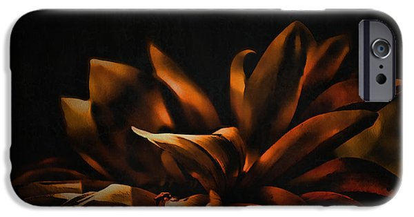 Best Sellers -  - Floral Digital Art Digital Art iPhone Cases - Elegance iPhone Case by Bonnie Bruno