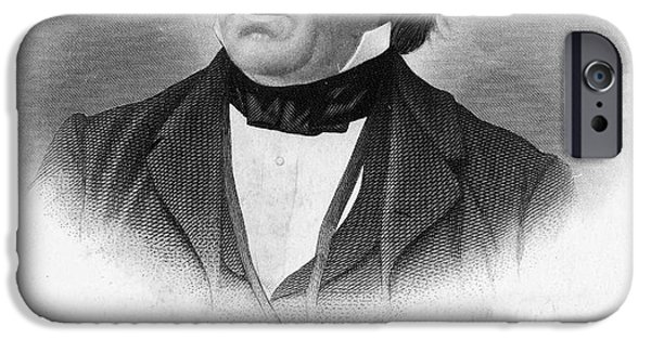 Autographed iPhone Cases - Elihu B. Washburne iPhone Case by Granger