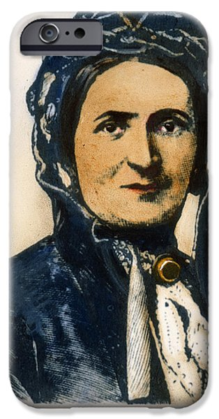 ELLEN CRAFT (b.1826) iPhone Case by Granger