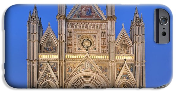 Man Made Space iPhone Cases - Europe Italy Umbria Orvieto Orvieto iPhone Case by Rob Tilley
