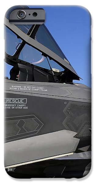 F-35b Lightning Ii Variants Are Secured iPhone Case by Stocktrek Images