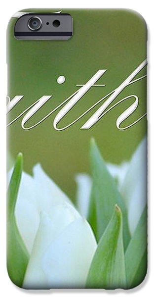 Faith iPhone Case by Lj Lambert