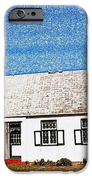 Farm House iPhone Case by Werner Lehmann