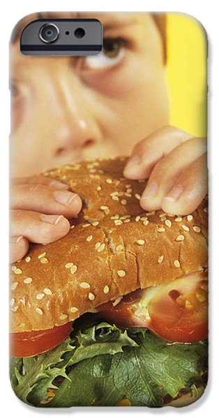 Fast Food iPhone Case by Ian Boddy