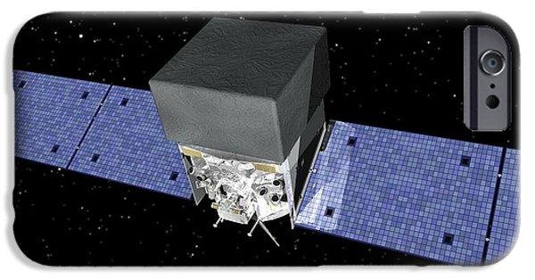 Gamma Ray Burst iPhone Cases - Fermi Gamma-ray Space Telescope, Artwork iPhone Case by Nasa