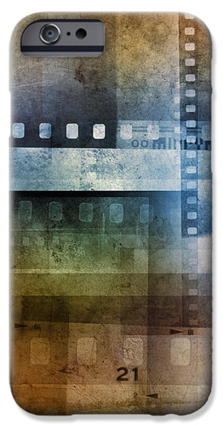 Film negatives iPhone Case by Les Cunliffe