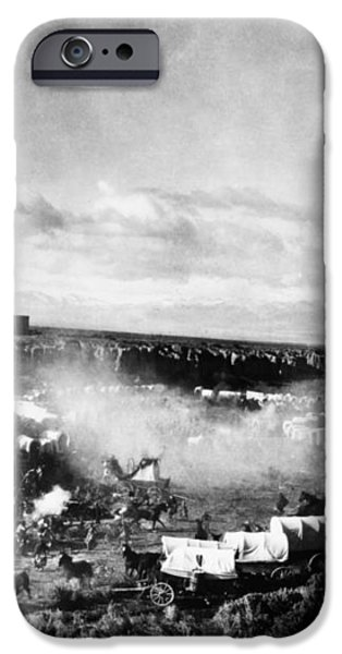 FILM: THE COVERED WAGON iPhone Case by Granger