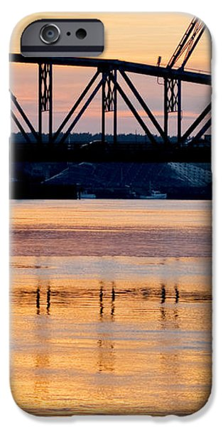 Fire on the Water iPhone Case by Greg Fortier