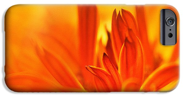 Storm Prints Mixed Media iPhone Cases - Fire Storm  iPhone Case by Elaine Manley