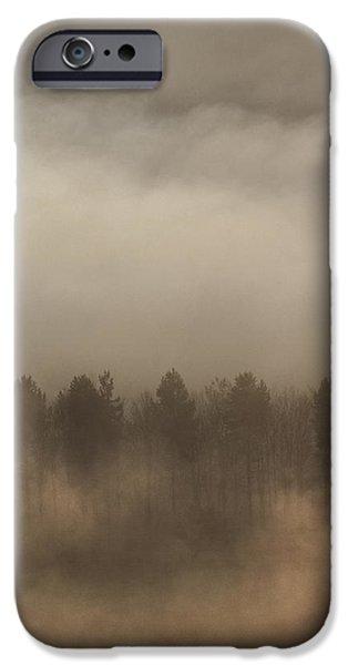 Fog Wall iPhone Case by Andy Astbury