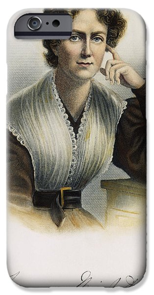 FRANCES WRIGHT (1795-1852) iPhone Case by Granger