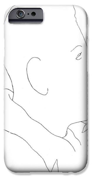 FRANCIS POULENC (1899-1963) iPhone Case by Granger