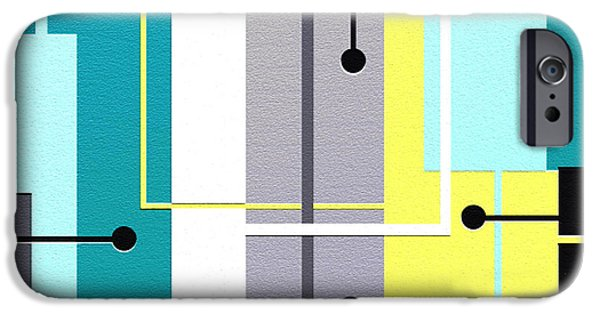 Geometrical Art iPhone Cases - Fresh iPhone Case by Ely Arsha