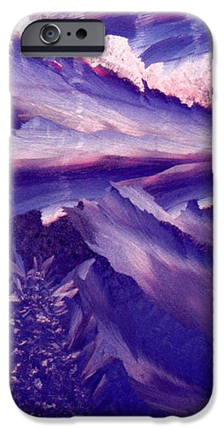 Frost on a Windowpane at Sunrise iPhone Case by Thomas R Fletcher