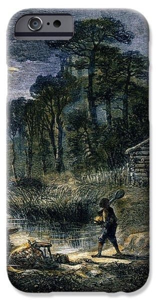 FUGITIVE SLAVES, 1864 iPhone Case by Granger
